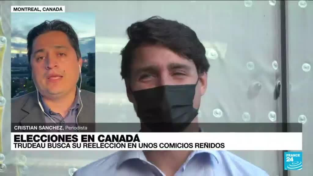 2021-09-21 01:10 Informe desde Montreal: Justin Trudeau busca su reelección en unos comicios reñidos