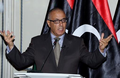 Photo d'archive d'Ali Zeidan, Premier ministre libyen