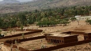 Several people are still feared to be buried after rocks crashed down onto their houses in the mountainous Jebel Marra region of Darfur (pictured June 2017)