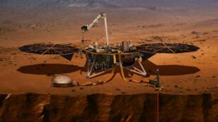 C'est la première fois depuis2012 qu'un engin s'est posé sur Mars.