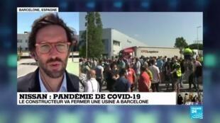 2020-05-28 14:11 Cure d'austérité renforcée chez Nissan, qui condamne son site de Barcelone