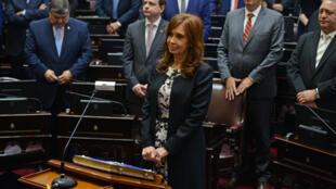 La expresidenta Cristina Fernández de Kirchner ha sido citada a declarar por los presuntos sobornos entre 2003 y 2015.