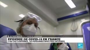 """2020-03-15 21:15 Coronavirus en France : """"Il est possible que 40% de la population soit contaminée"""""""
