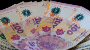 Pesos argentinos. Archivo.