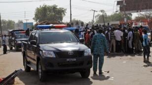 Une ambulance dépêchée après une attaque, le 12 november 2016, à Maiduguri.