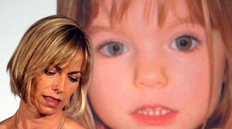 Kate McCann, dont la fille Madeleine a disparu au Portugal en 2007, assiste à une conférence de presse lors du lancement de son livre à Londres, le 12 mai 2011.