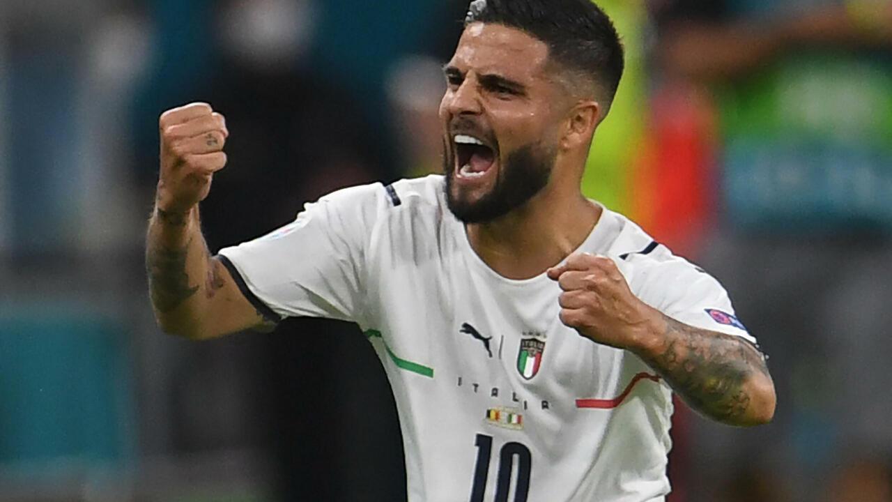كأس الأمم الأوروبية 2021: إيطاليا تتأهل لنصف النهائي بعد فوزها على بلجيكا 2-1