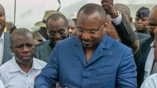 Denis Christel Sassou Nguesso, le fils du président congolais, à Brazzaville en août2018.