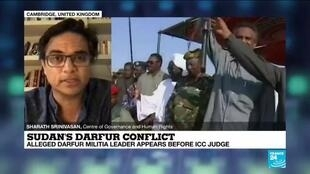 2020-06-15 23:19 Sudan's Darfur Conflict: Militia Leader Ali Kushayb appears before ICC Judge