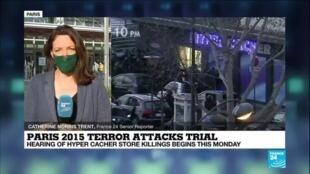 2020-09-21 10:03 Paris 2015 terror attacks trial: Court hears harrowing survivor testimonies