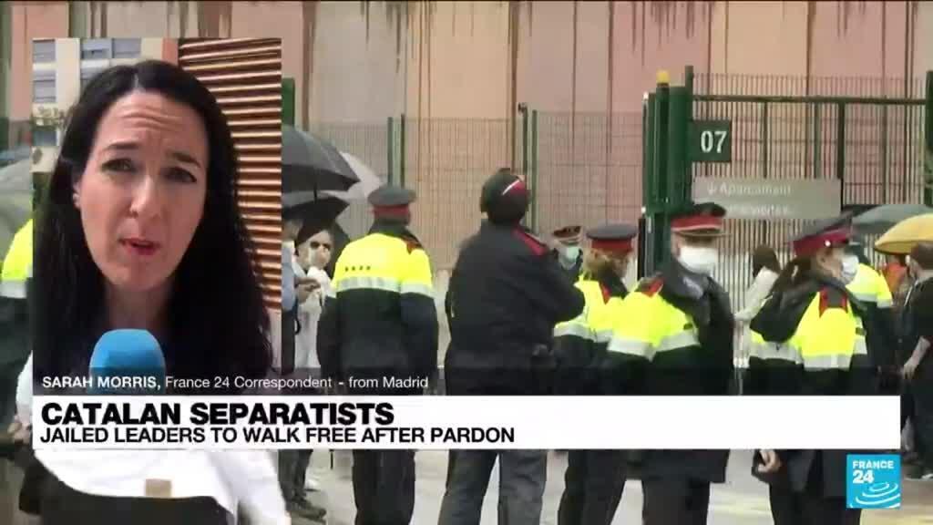 2021-06-23 12:04 Catalan separatists leave prison after Spain pardon