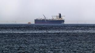 Le pétrolier Amjad, l'un des deux navires visés par un sabotage le 12 mai 2019.