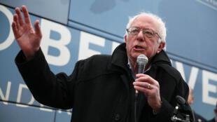 Bernie Sanders à Des Moines (Iowa) le 26 janvier.