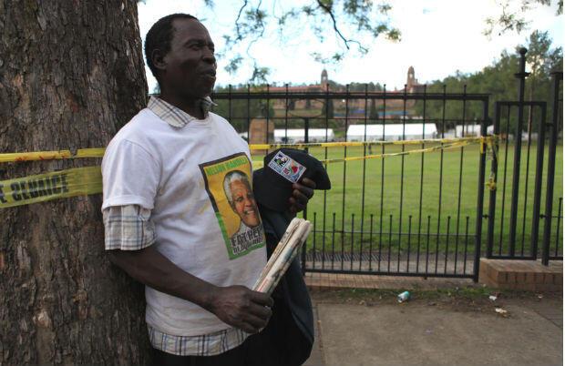 Joseph Mogajana a enfin vu la dépouille de Nelson Mandela.
