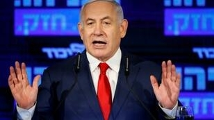 Israeli Prime Minister Benjamin Netanyahu is facing a tough challenge from a centrist coalition at April 9 polls