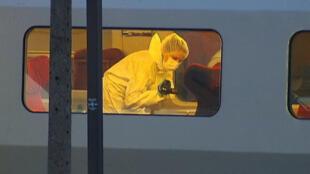 """قطار """"تاليس"""" بعيد الحادثة"""