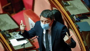 Matteo Renzi, a former Italian prime minister, had long threatened to pull his support from the government after falling out with the current PM, Giuseppe Conte.