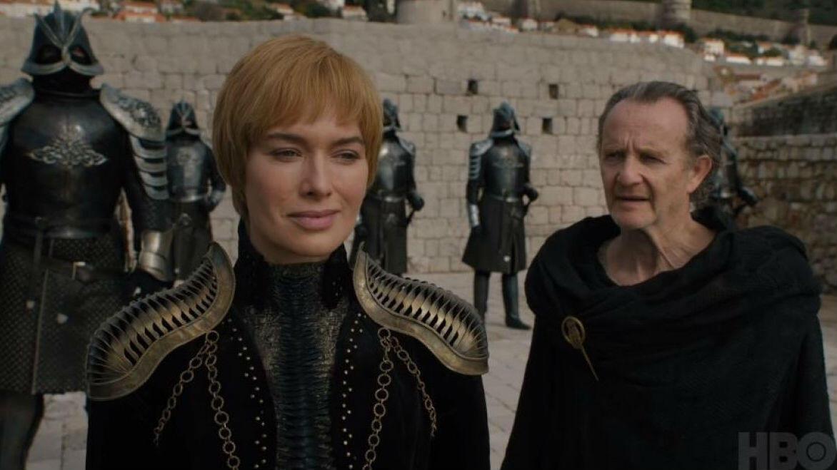 Imagen de Cersei Lannister, de la serie 'Juego de Tronos', 'Game of Thrones'.