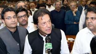 Imran Khan est devenu le 22e Premier ministre du Pakistan.