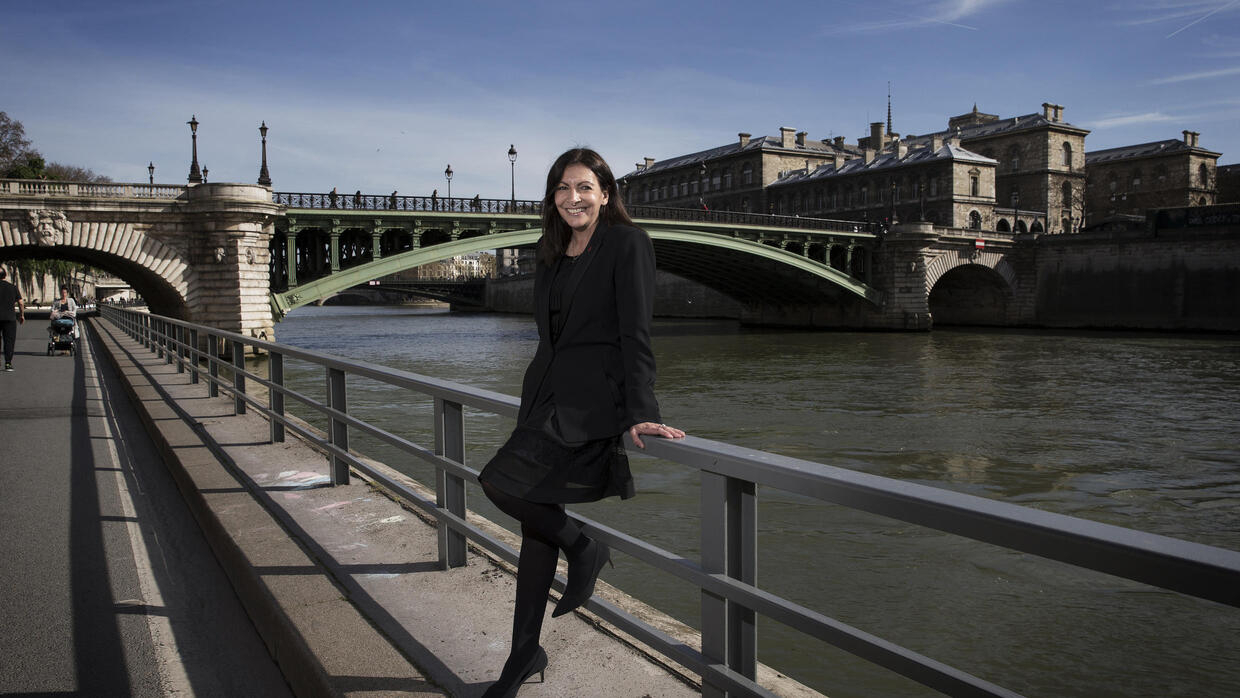 Municipales : Anne Hidalgo, candidate à sa réélection à Paris