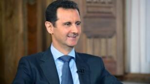 الرئيس السوري بشار الأسد -صورة نشرتها وكالة سانا في 26 آب/أغسطس 2015