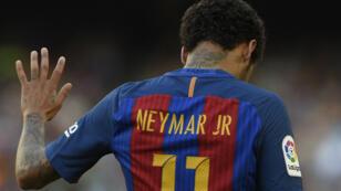 Le Brésilien Neymar, sous le maillot du FC Barcelone.