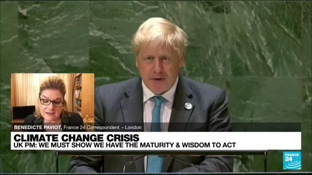2021-09-23 14:10 'Grow up': UK's Johnson says world must face climate change