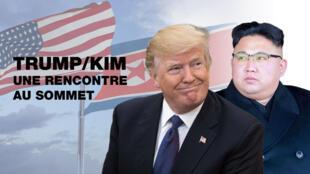 Donald Trump et Kim Jong-un se rencontrent après des décennies de tensions liées aux ambitions nucléaires de Pyongyang.