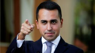 Luigi Di Maio tiene 31 años y es el candidato a primer ministro por el Movimiento Cinco Estrellas en Italia.