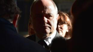 وزير الداخلية الفرنسي المستقيل برونو لورو