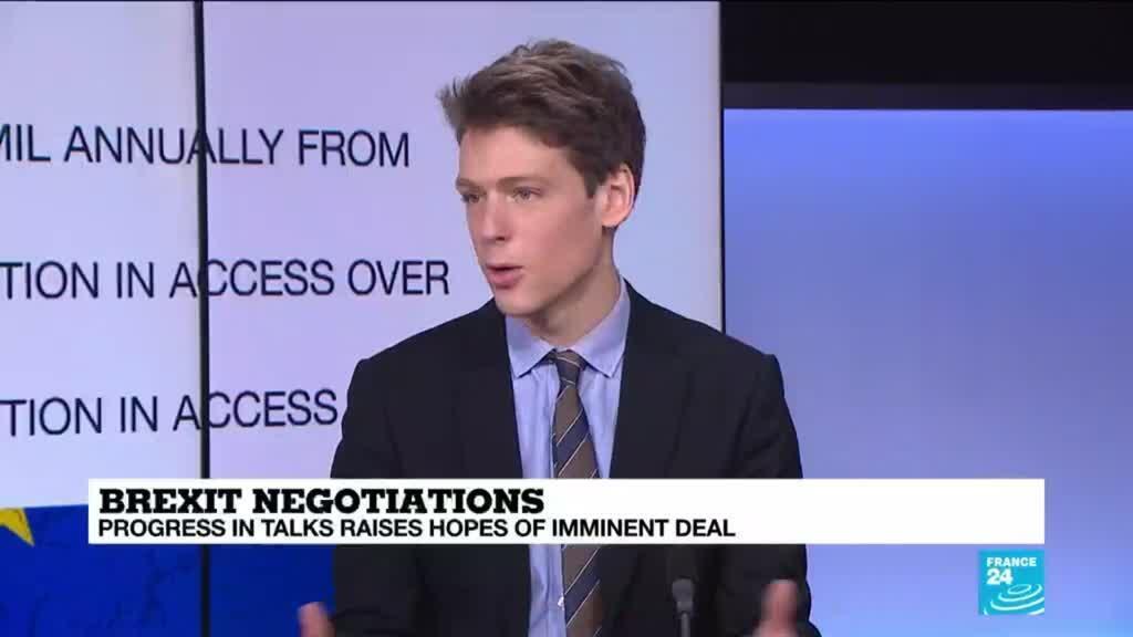 2020-12-24 08:02 Brexit negotiations: Progress in talks raises hopes of imminent deal