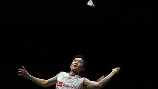 Momota's crash came after his victory in the Malaysia Open