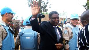 Le gynécologue Denis Mukwege lors de la remise d'un prix à Washginton, le 25 février 2014.