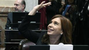 Cristina Kirchner a prêté serment comme sénatrice le 29 novembre 2017.