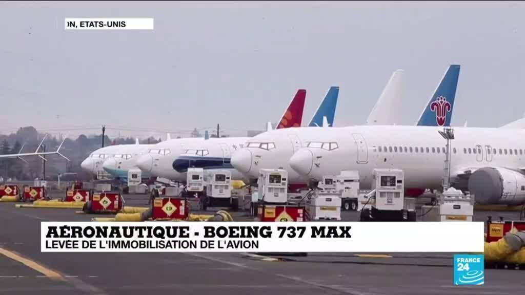 2020-11-18 16:00 Les Etats-Unis autorisent le Boeing 737 MAX à voler de nouveau