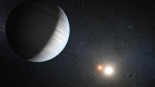 Le trio de planètes découvertes se trouve à 39 années-lumières de la Terre.