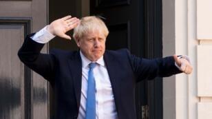 Le Premier ministre britannique Boris Johnson à Londres le 19 août 2019.