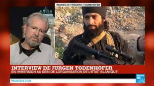 Jürgen Todenhöfer a rencontré des combattants de l'EI à Mossoul.