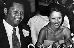 "Former Haitian strongman Jean-Claude ""Baby Doc"" Duvalier and his French wife, Michele Bennet, in 1980."