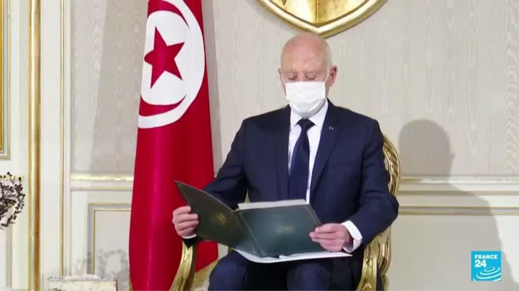 2021-08-24 22:07 Túnez: presidente Kaïs Saied decidió prolongar la suspensión del parlamento