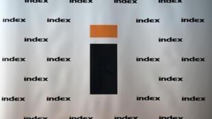Logo du principal site d'information indépendant de Hongrie, Index.hu, dont la quasi totalité des journalistes a démissionné pour protester contre le limogeage de leur rédacteur en chef, sous la pression selon eux de proches du gouvernement de Viktor Orban