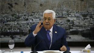 Mahmoud Abbas a annoncé, jeudi 25 juillet, à Ramallah, que l'Autorité palestinienne cesserait de respecter les accords avec Israël.