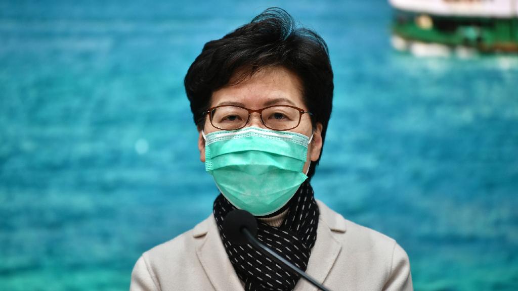 Carrie Lam, jefa del Ejecutivo de Hong Kong, llegó al poder en 2017 y ha vivido un periodo convulso de protestas.