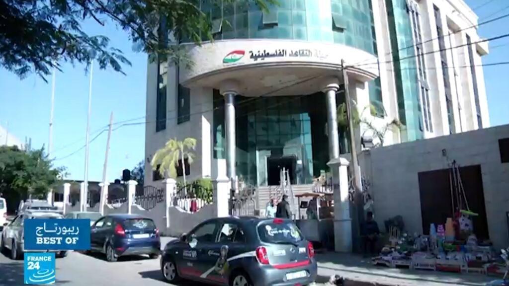 قطاع غزة: حملة   يسقط_التقاعد_المالي  - ريبورتاج