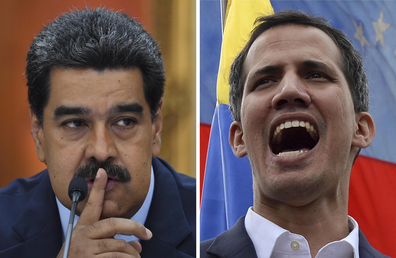 Nicolás Maduro y Juan Guaidó, en imágenes de 2019