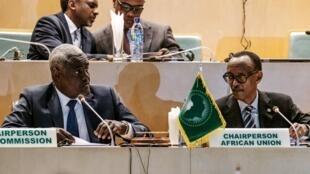 اجتماع الاتحاد الإفريقي في العاصمة الإثيوبية أديس أبابا. 17 يناير/كانون الثاني 2019