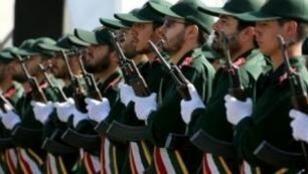 الحرس الثوري الإيراني.