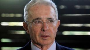 El expresidente colombiano Álvaro Uribe.