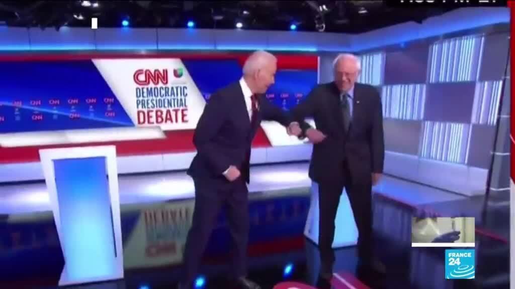 2020-03-16 13:14 Primaires démocrates : Un débat Biden-Sanders dans l'ombre du coronavirus