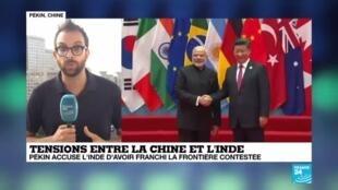 2020-06-16 13:10 Pékin accuse l'Inde d'avoir franchi la frontière contestée